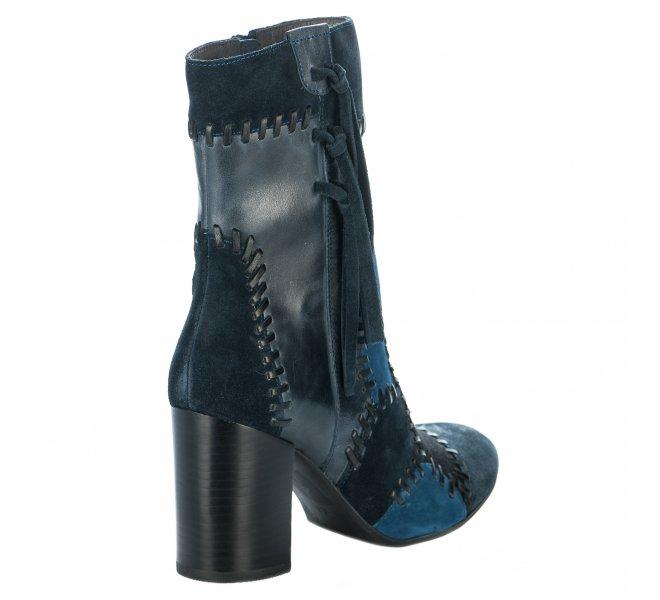 Boots fille - MAM'ZELLE - Bleu