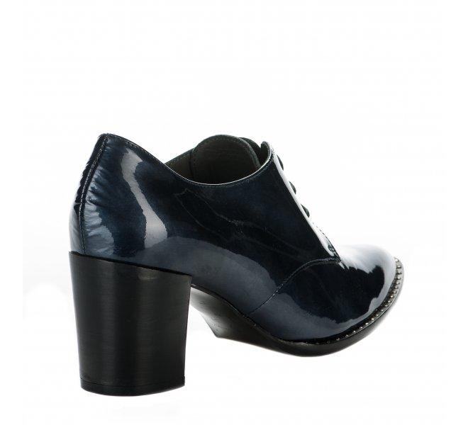 Chaussures à lacets fille - FRANCE MODE - Bleu gris