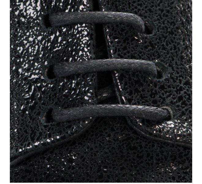 Chaussures à lacets fille - KHRIO - Noir