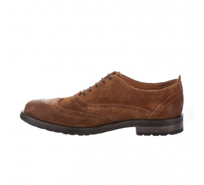 Chaussures à lacets garçon - REPUBLYKA - Naturel