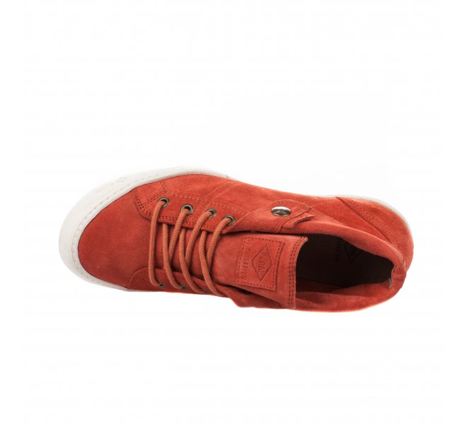 Baskets mode fille - PLDM - Terracotta