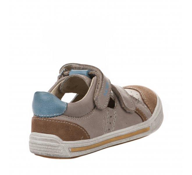 Chaussures à lacets garçon - NOEL - Beige
