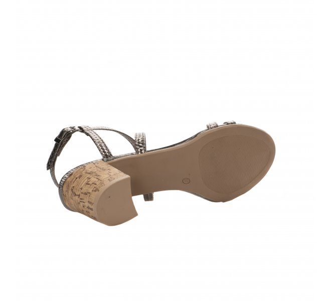 Nu pieds fille - MIGLIO - Gris plomb