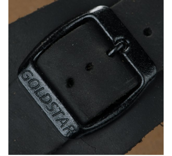 Nu-pieds garçon - GOLDSTAR - Noir
