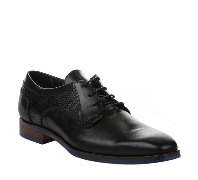 Chaussures à lacets garçon - DANIEL KENNETH - Noir