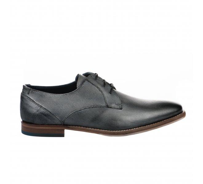Chaussures à lacets garçon - DANIEL KENNETH - Gris
