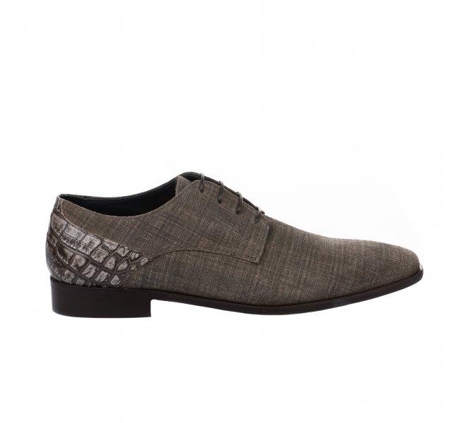 Chaussures à lacets garçon - DANIEL KENNETH - Taupe