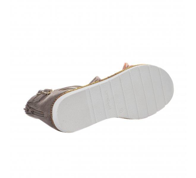 Nu-pieds fille - LITTLE DAVID - Taupe