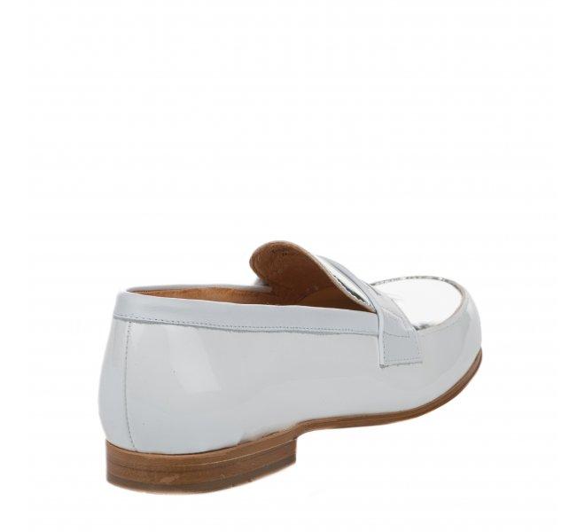 Mocassins fille - PELLET - Blanc