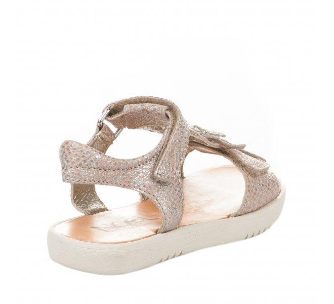 Nu-pieds fille - NOEL - Beige dore