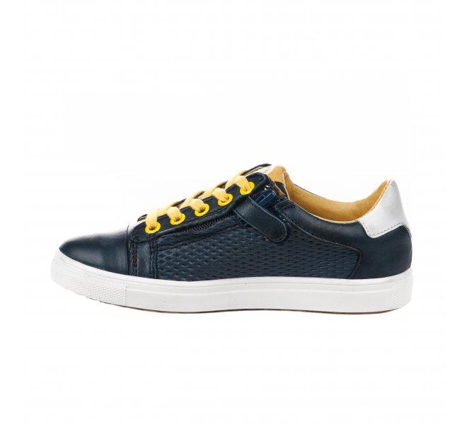 Chaussures à lacets garçon - ACEBOS - Bleu marine