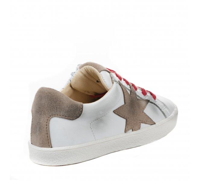 Baskets garçon - ACEBOS - Blanc