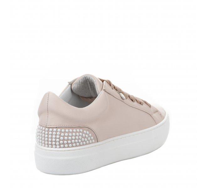 Baskets mode fille - MIGLIO - Rose poudre