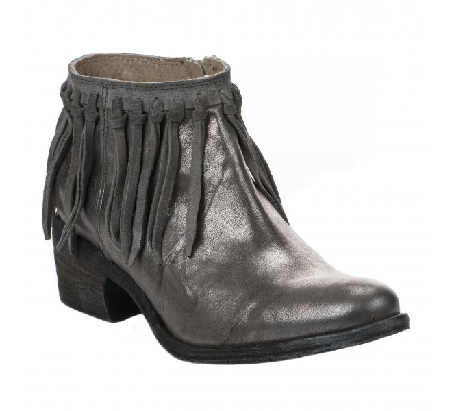 Boots fille - KHRIO - Gris