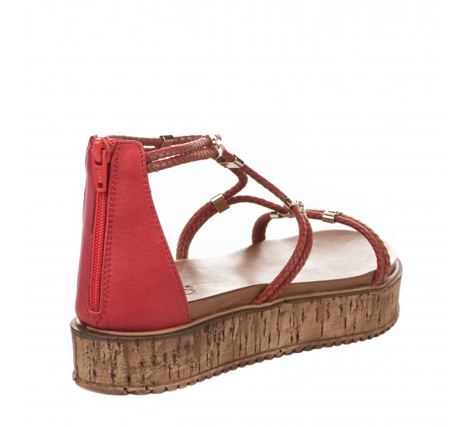 Nu pieds fille - INUOVO - Rouge