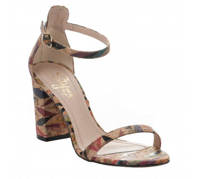 Nu pieds fille - STYME - Multicolore