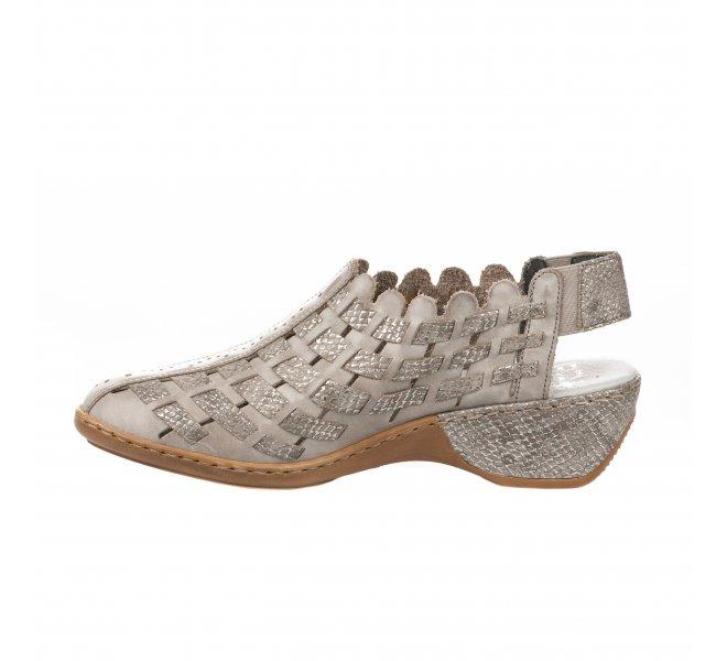 Chaussures de confort fille - RIEKER - Taupe
