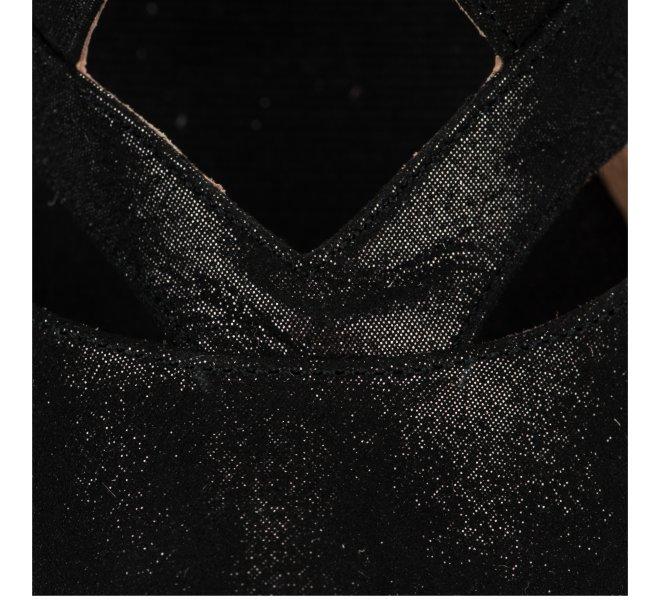 Espadrilles fille - KANNA - Noir