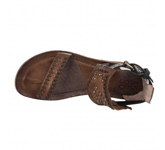 Nu pieds fille - AS 98 - Marron