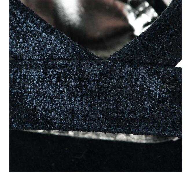 Nu pieds fille - MYMA - Bleu marine