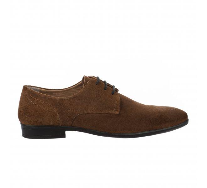 Chaussures à lacets garçon - FIRST COLLECTIVE - Naturel