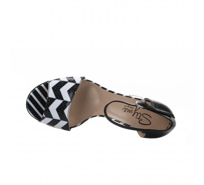 Nu pieds fille - STYME - Noir