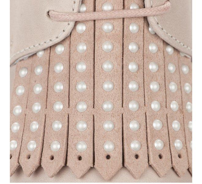 Baskets mode fille - LOUISA - Rose poudre