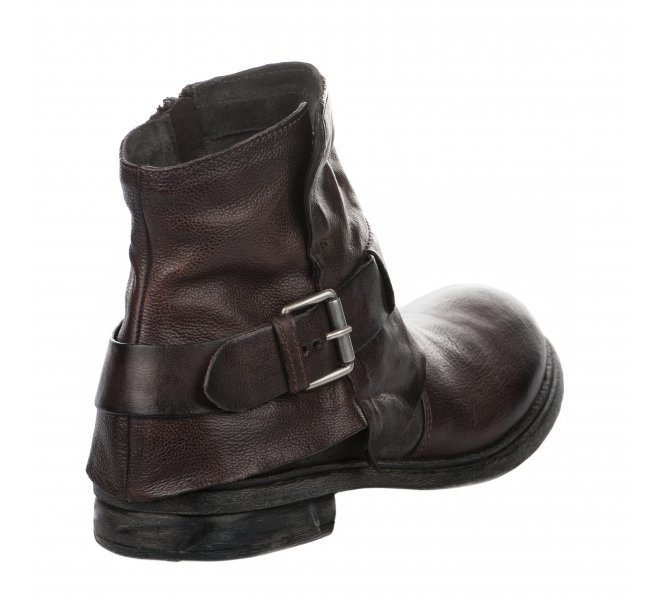 Boots garçon - FIRST COLLECTIVE - Marron