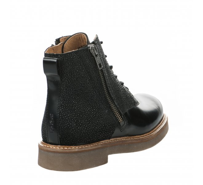 Bottines fille - KICKERS - Noir