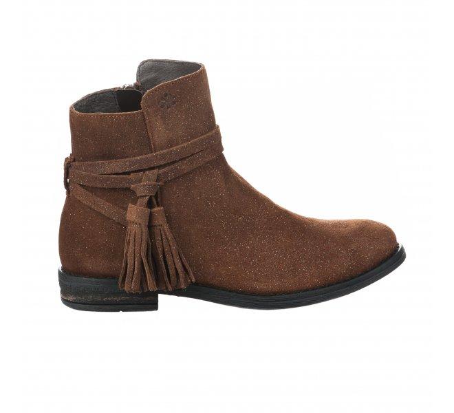 Boots fille - ACEBOS - Marron
