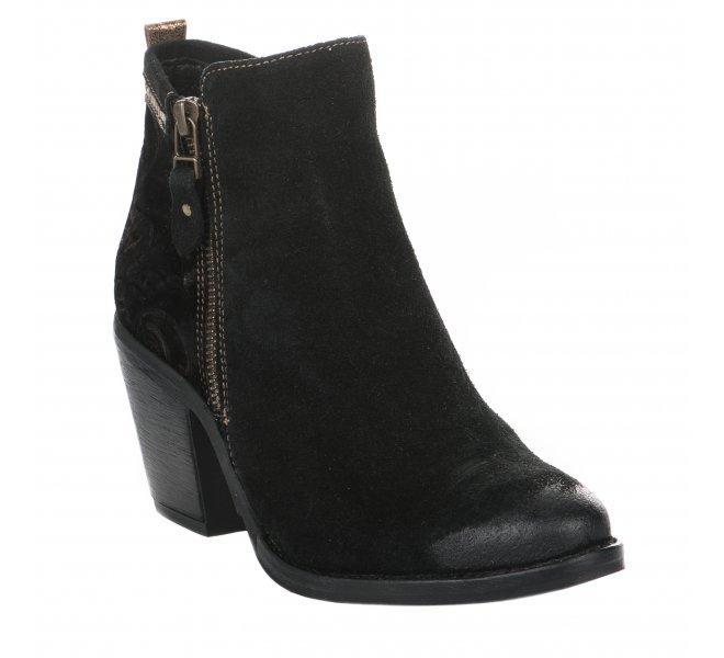 Boots fille - REPUBLYKA - Noir
