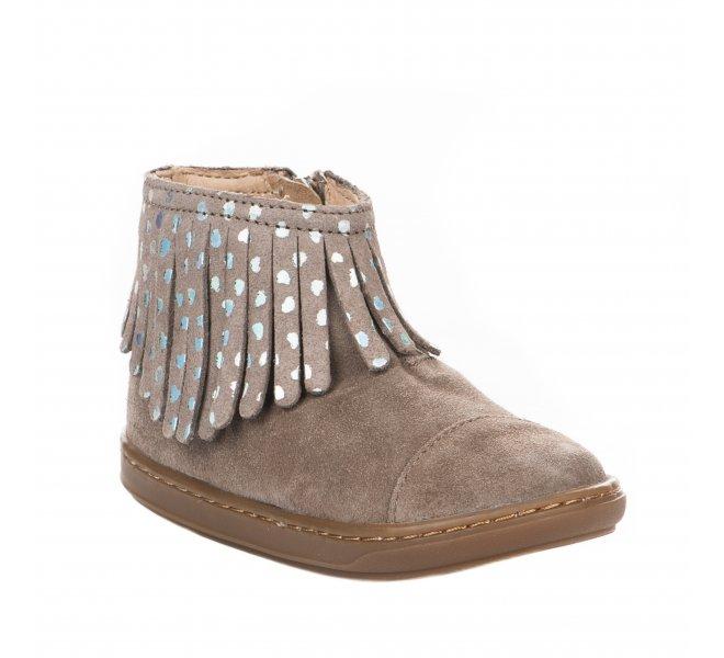 Boots fille - SHOO POM - Beige