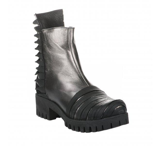Boots fille - PAPUCEI - Noir