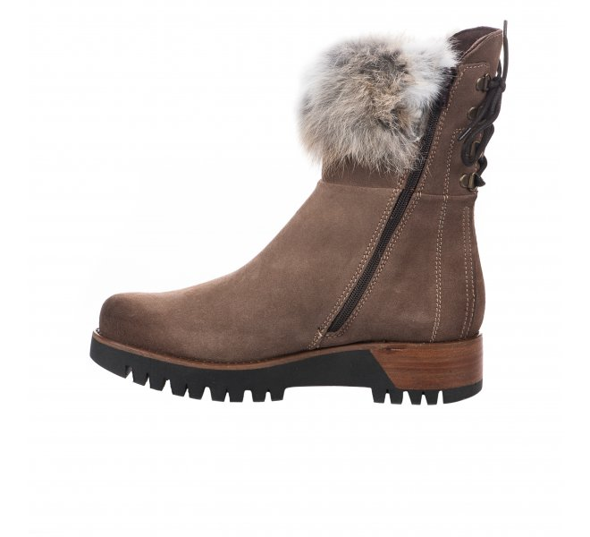 Boots fille - MANAS - Taupe