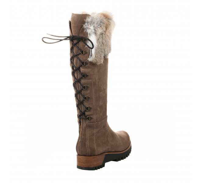 Bottes fille - MANAS - Taupe
