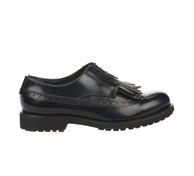 Chaussures à lacets fille - MIGLIO - Bleu marine