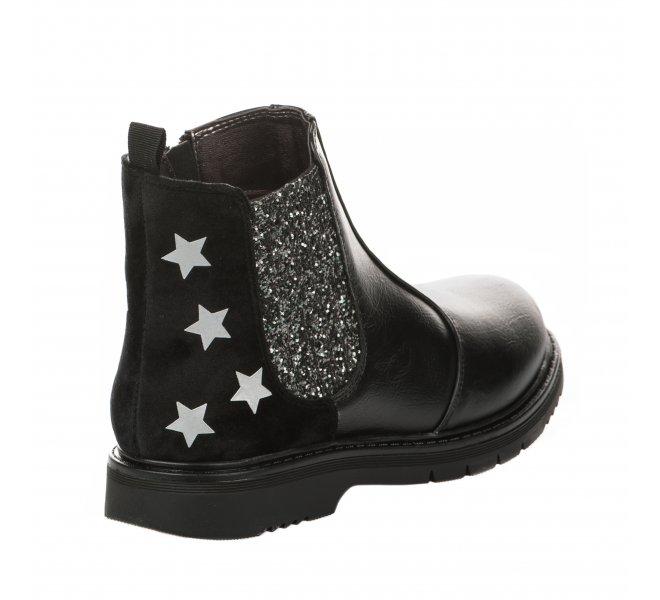Boots fille - ASSO - Noir
