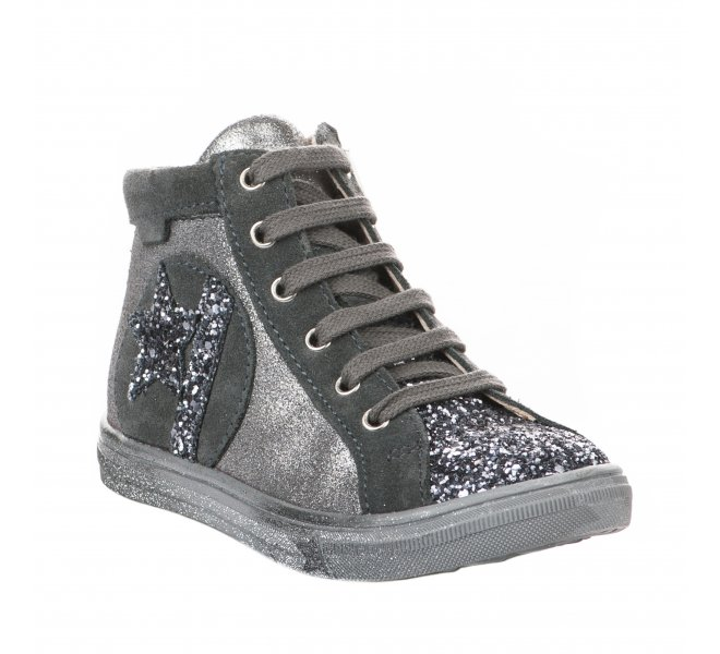 Bottines fille - GBB - Gris