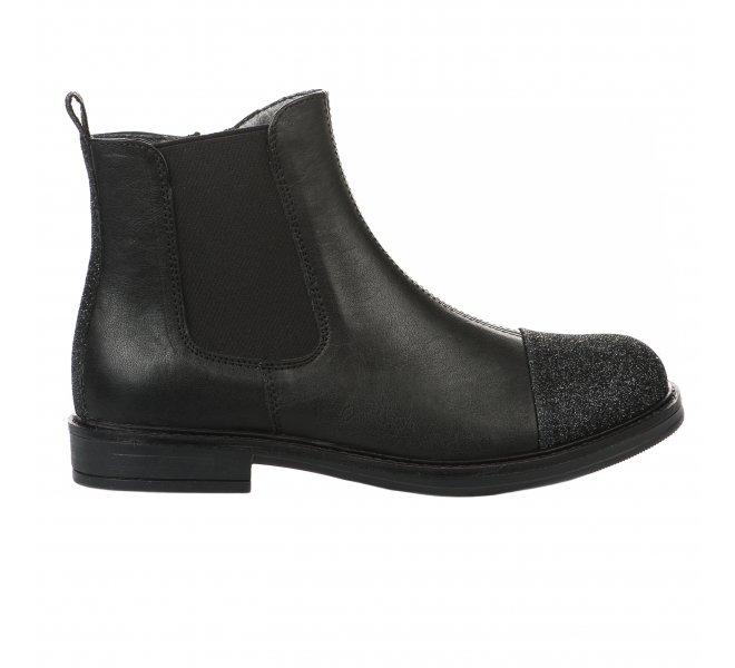 Boots fille - CIAO - Noir