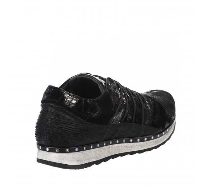 Baskets mode fille - KHRIO - Noir