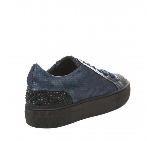 Baskets mode fille - MIGLIO - Bleu marine