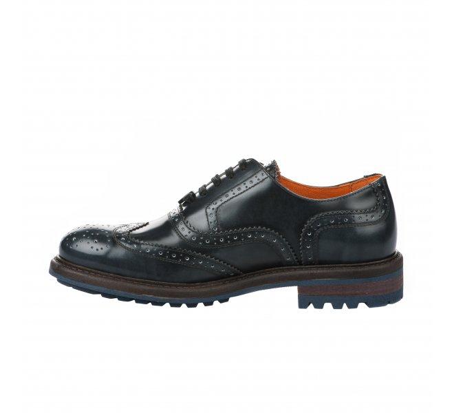 Chaussures à lacets garçon - AMBITIOUS - Gris anthracite