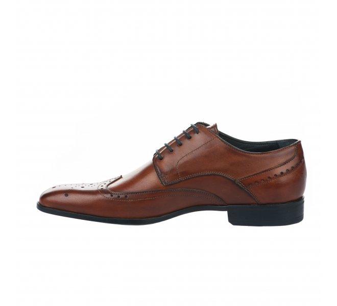 Chaussures à lacets garçon - DANIEL KENNETH - Naturel