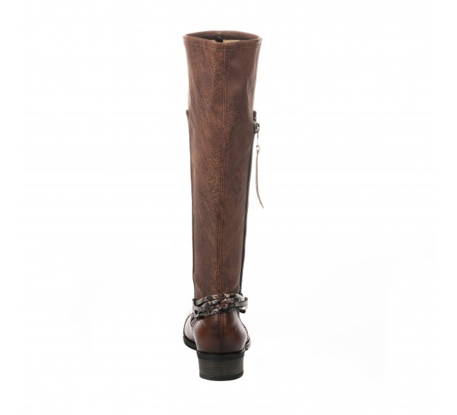 Bottes fille - FRANCE MODE - Marron