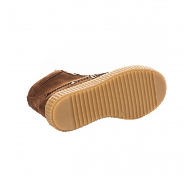 Baskets fille - ACEBOS - Marron naturel