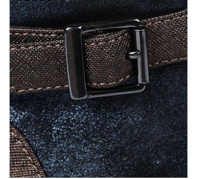 Baskets mode fille - KARSTON - Bleu marine