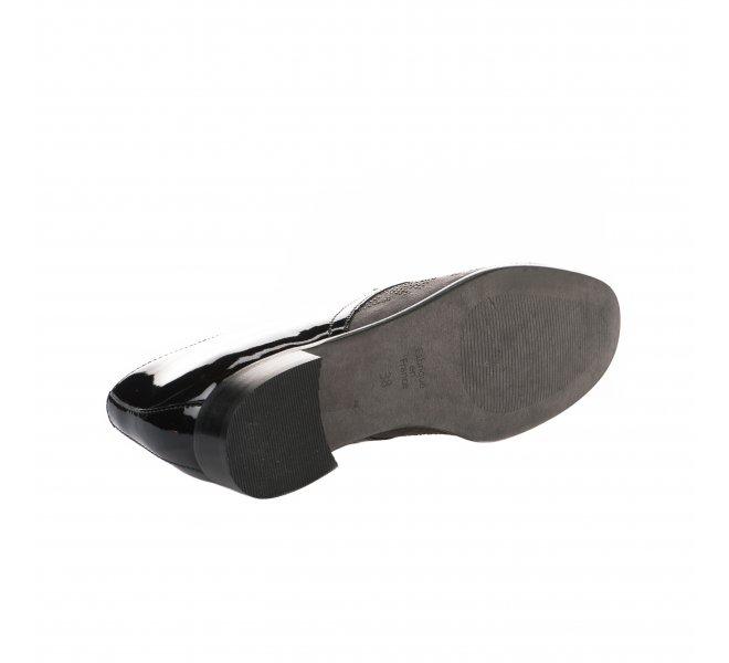 Chaussures à lacets fille - KARSTON - Gris