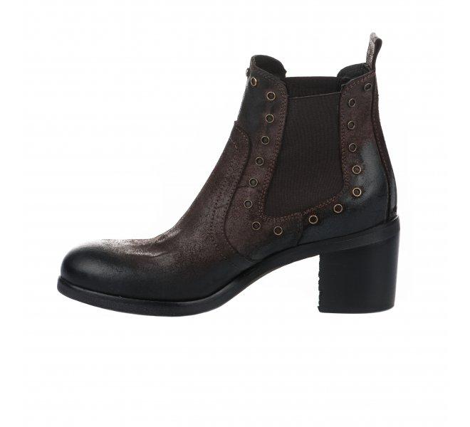 Boots fille - REDCREATYVE - Marron