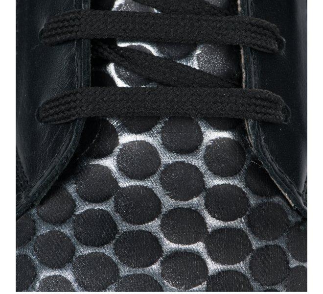 Baskets mode fille - J QUINN - Noir