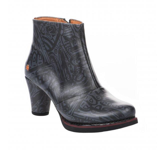 Boots fille - ART - Noir